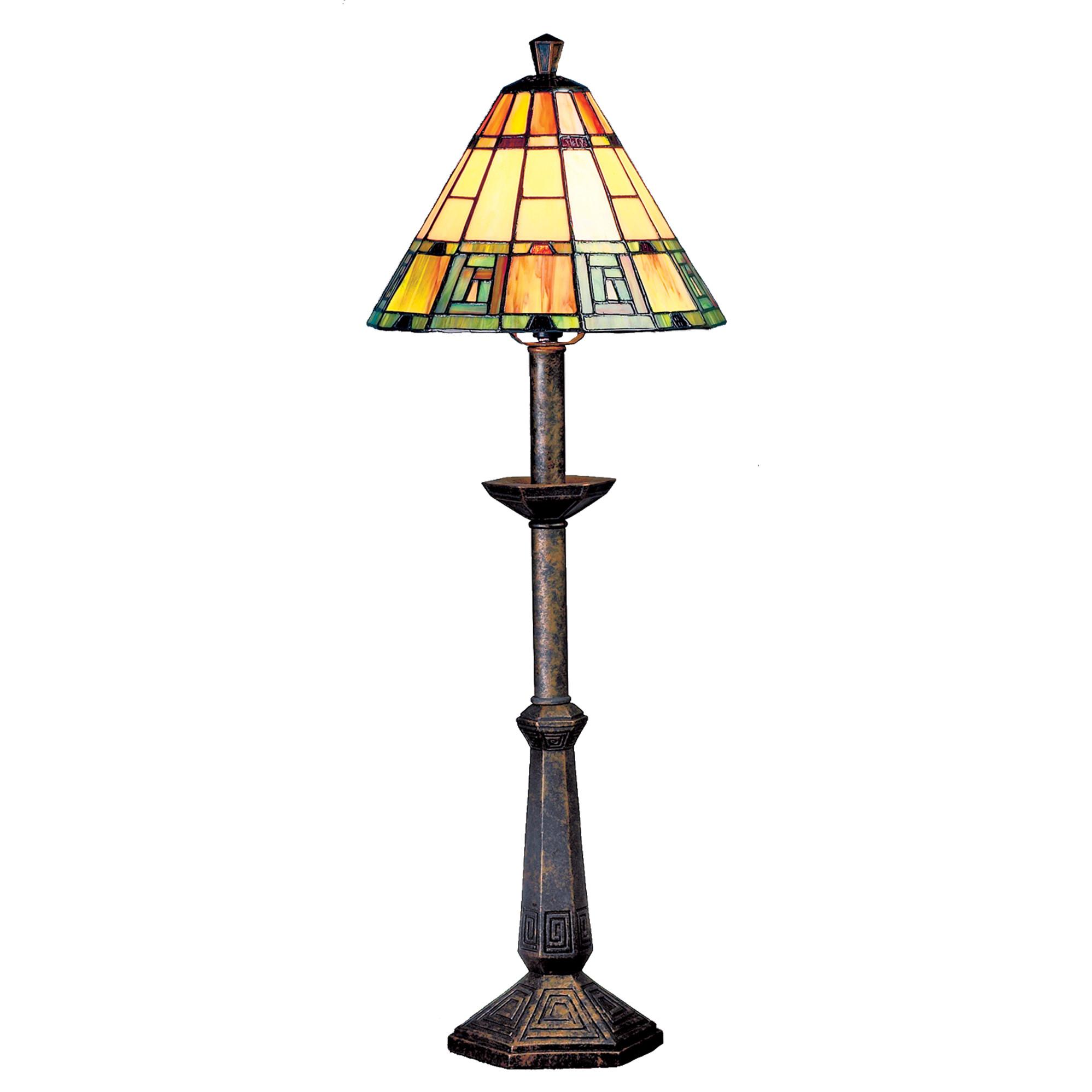 Tall Egyptian Tiffany Table Lamp