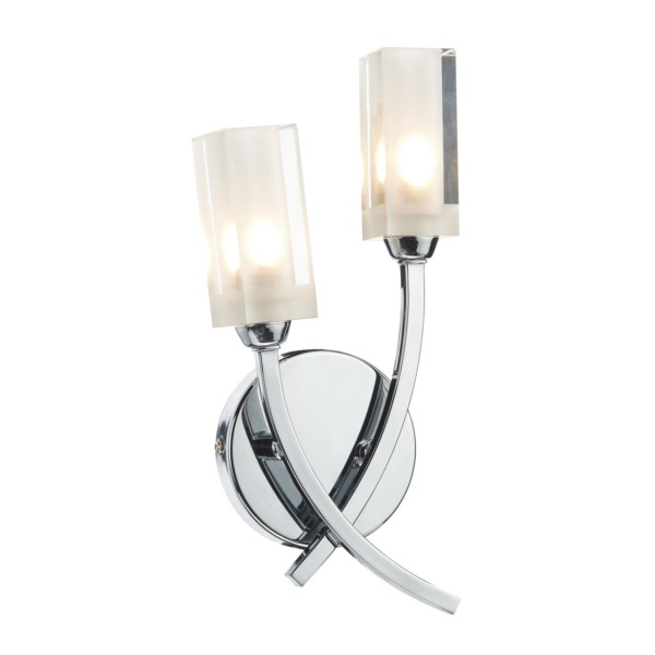 Dar-Lighting-Morgan-2-Light-Semi-Flush-Wall-Light